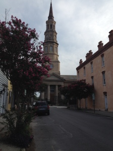 Historical church in Charleston