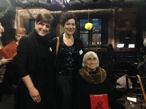 Left-right: Nannette Mazich, executive director of Eisenhower Dance; Cheryl McIlhon, Eisenhower Dance board member and Detroit Opera House Dance council chair; and dance historian Harriet Berg.