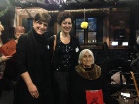 Left-right: Nannette Mazich, executive director of Eisenhower Dance; Cheryl McIlhon, Eisenhower Dance board member and Detroit Opera House Dance council chair; and dance historian Harriet Berg.