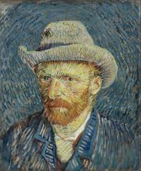 Vincent van Gogh self portrait