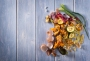 Wasted food scraps