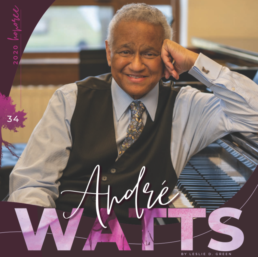 Andre Watts, classical pianist